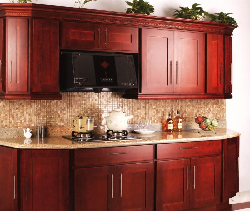 kitchen design studio inc cherry shaker home. Black Bedroom Furniture Sets. Home Design Ideas